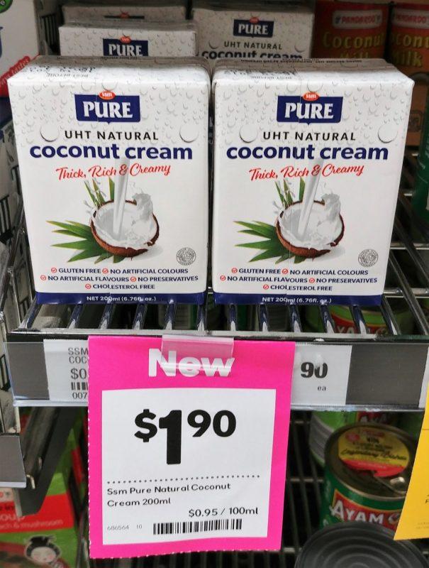 SSM Pure 200mL Coconut Cream