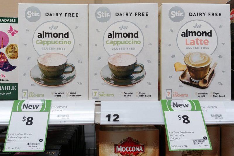 Stir 126g Dairy Free Almond Cappuccino, Latte