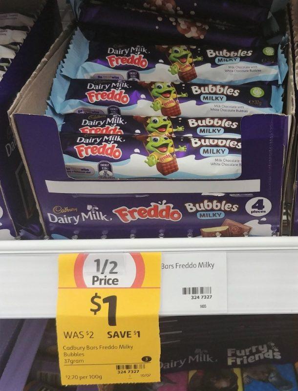 Cadbury 37g Freddo Milky Bubbles