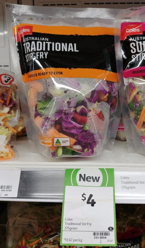 Coles 375g Stir Fry Traditional
