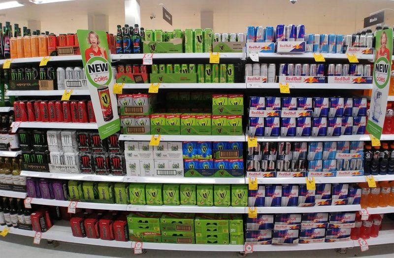 Coles Supermarket Aisle Energy Drinks – June 2018