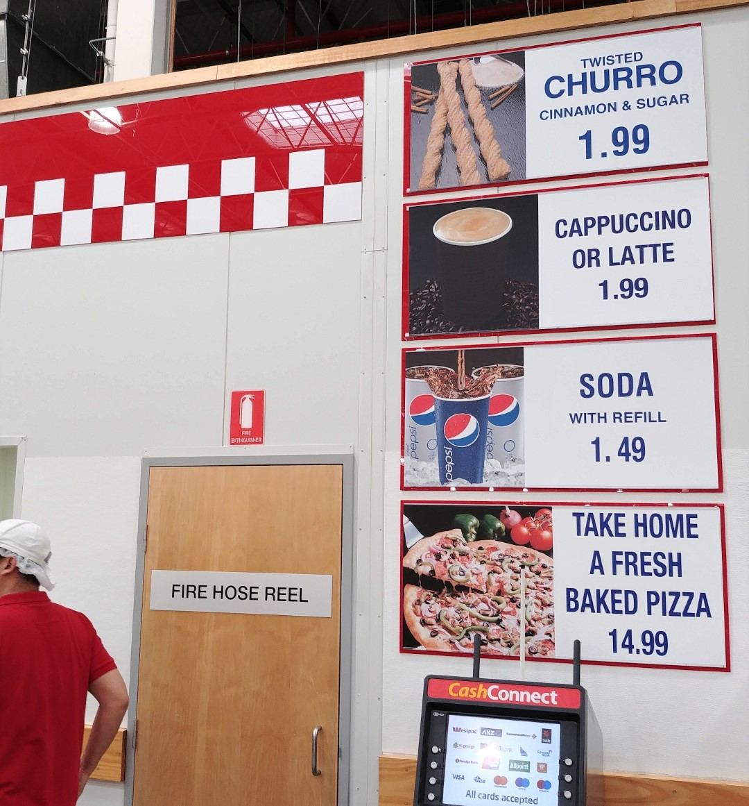 Costco Foodcourt Menu Australia 20 July 18 New Products Australia