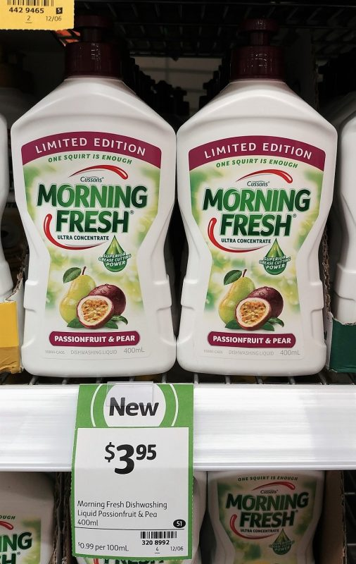 Cussons 400mL Morning Fresh Dishwashing Liquid Passionfruit & Pear