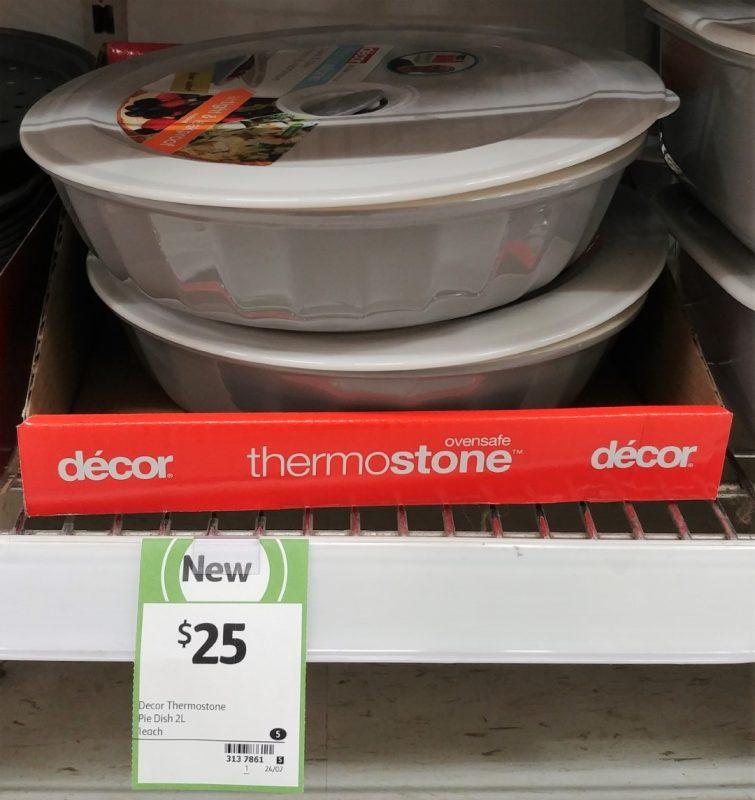 Decor 2L Pie Dish Thermostone