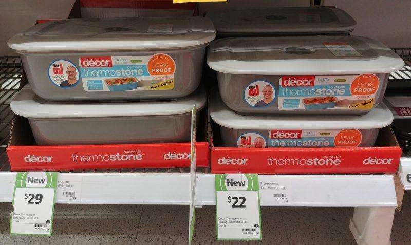 Decor 3L Baking Dish Thermostone, 1.8L