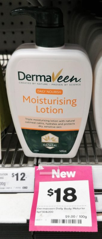 Dermaveen 500mL Moisturising Lotion Daily Nourish