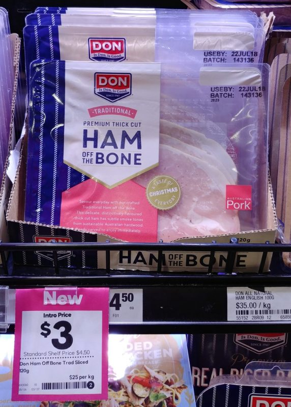 Don 120g Ham Of The Bone Traditional