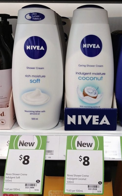 Nivea 500mL Shower Cream Soft, Coconut