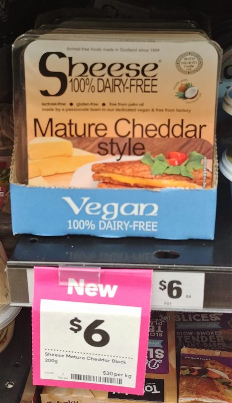 Sheese 200g Dairy Free Mature Cheddar Style