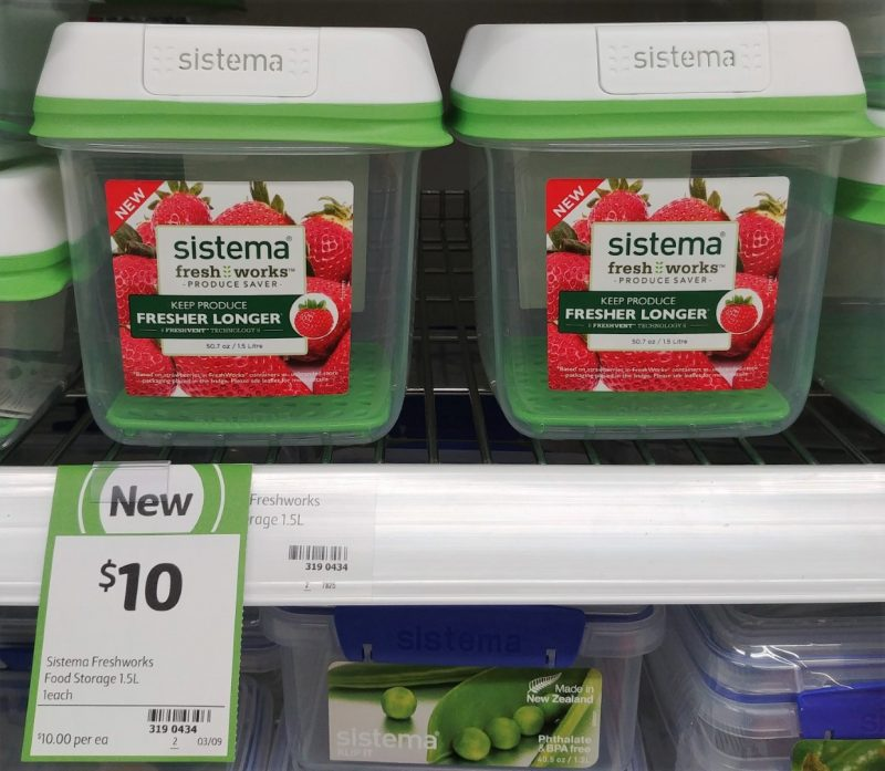 Sistema 1.5L Food Storage Fresh Works