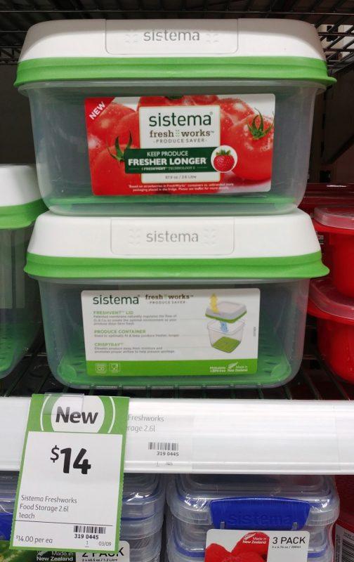 Sistema 2.6L Food Storage Fresh Works