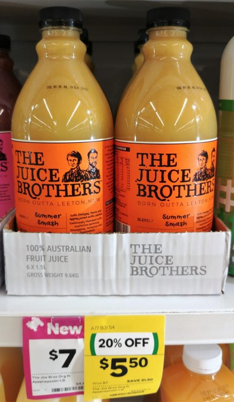 The Juice Brothers 1.5L Juice Summer Smash