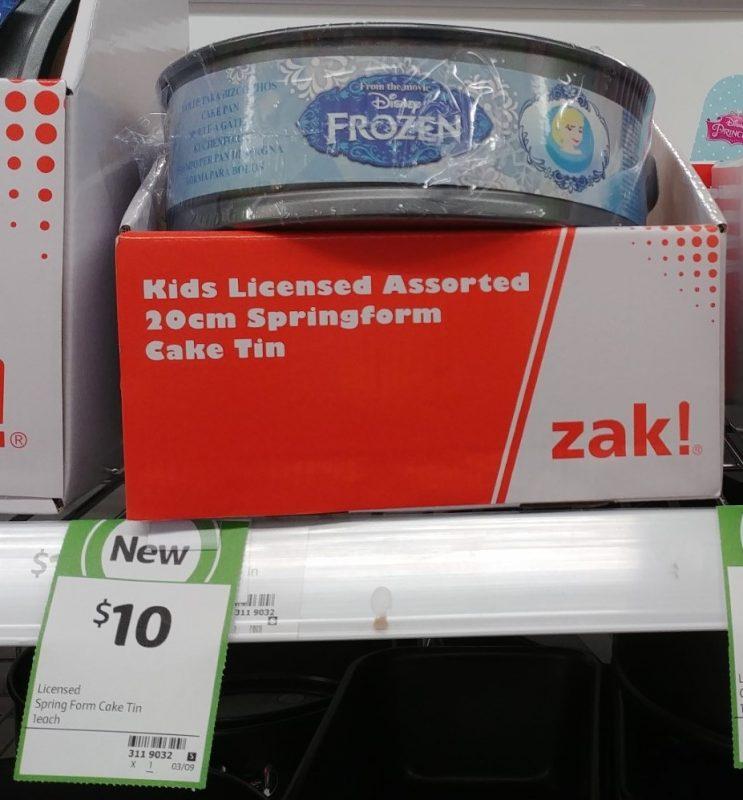 Zak Designs 20cm Cake Tin Springform Kids Licensed Assorted