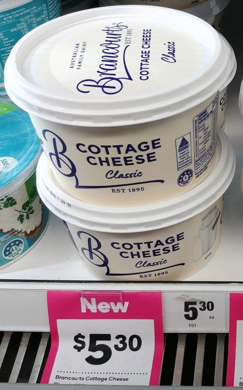 Brancourts 500g Cottage Cheese Classic