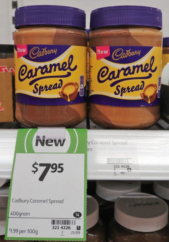 Cadbury 400g Caramel Spread