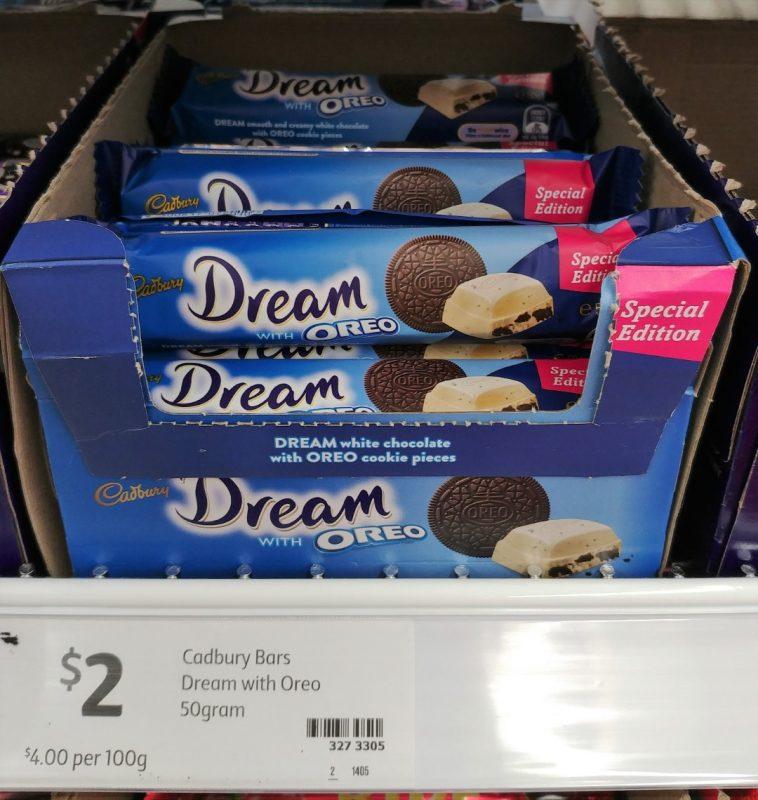 Cadbury 50g Dream With Oreo