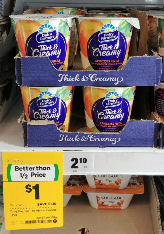 Dairy Farmers 150g Yoghurt Thick & Creamy Apricot