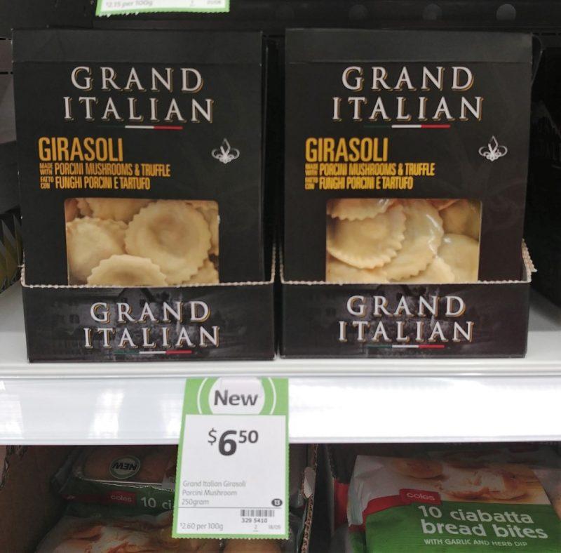 Grand Italian 250g Girasoli
