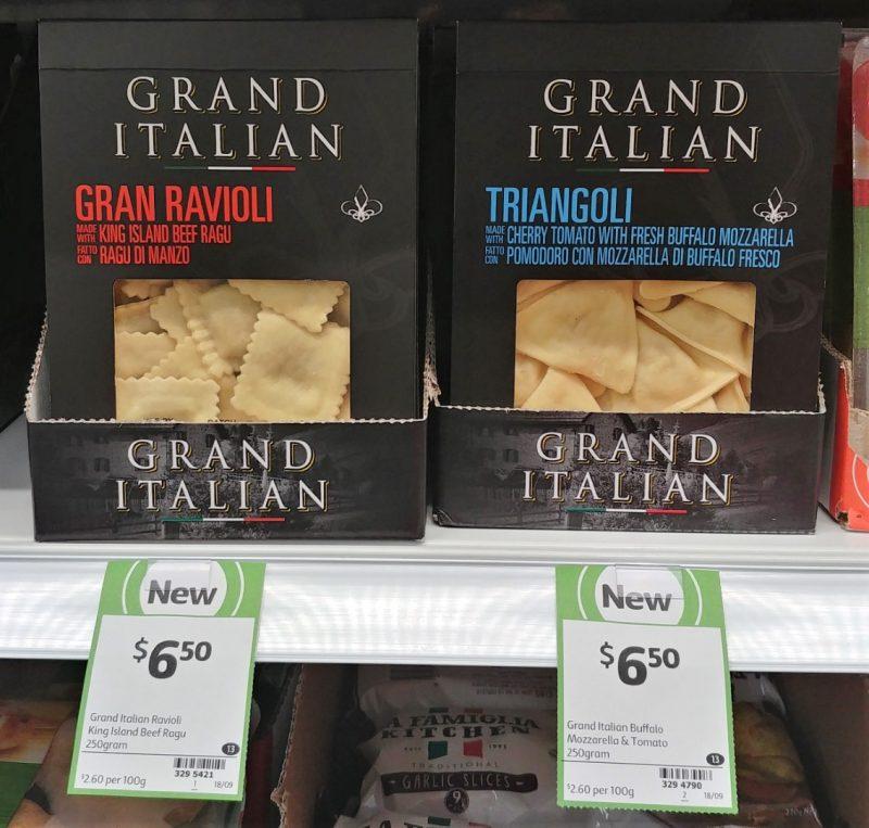 Grand Italian 250g Gran Ravioli, Triangoli