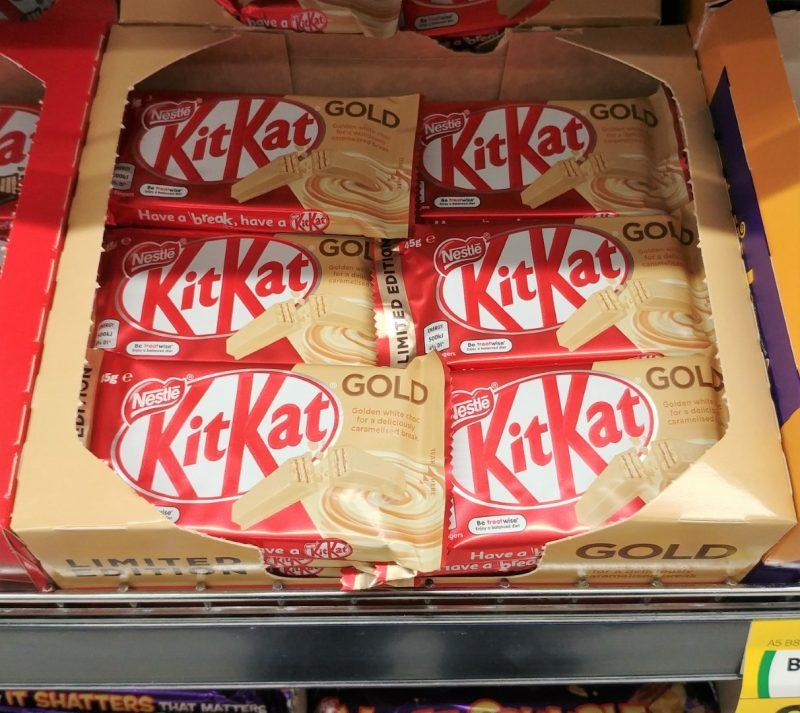KitKat 45g Gold