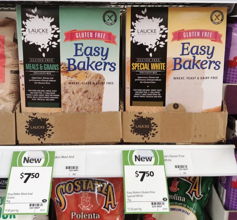 Laucke 1kg Bread Mix Easy Bakers Gluten Free Meals & Grains, Special White