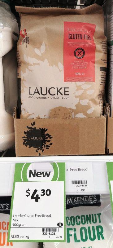 Laucke 500g Bread Mix Gluten Free