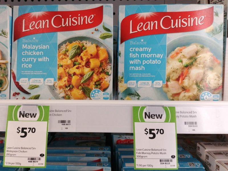 Lean Cuisine 280g Balance Malaysian Chicken Curry With Rice