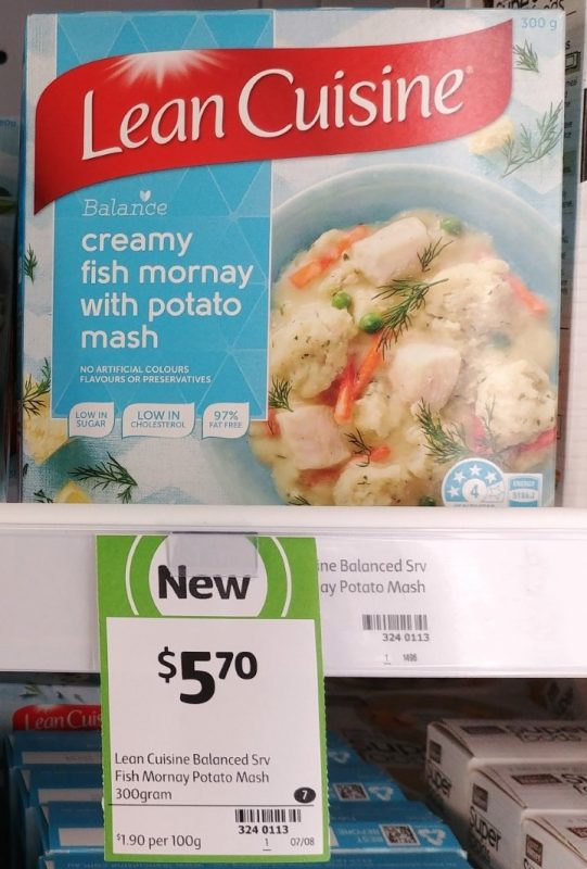 Lean Cuisine 300g Balance Creamy Fish Mornay With Potato Mash