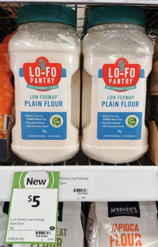 Lo Fo Pantry 1kg Plain Flour Low Foodmap
