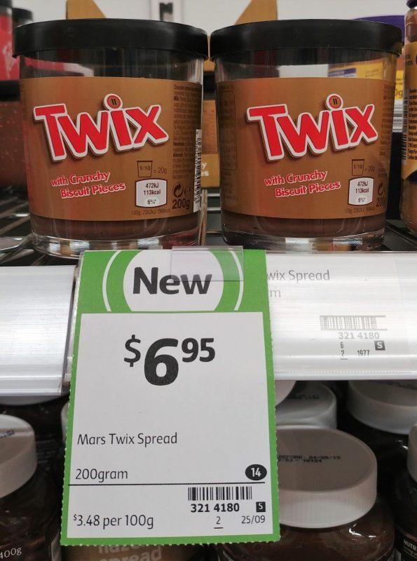Mars 200g Twix Spread