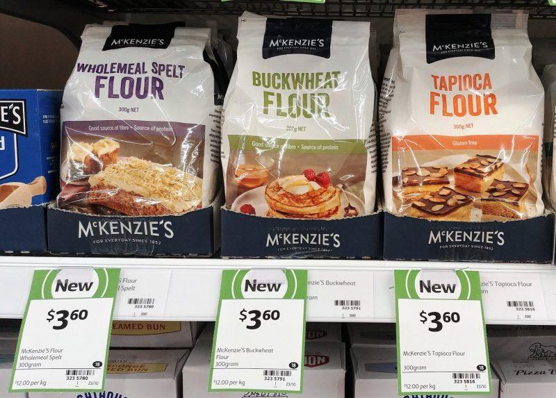 McKenzie's 300g Flour Wholemeal Spelt, Buckwheat, Tapioca