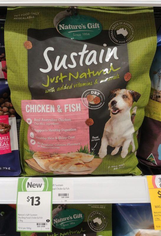 Nature's Gift 2.5kg Sustain Chicken & Fish
