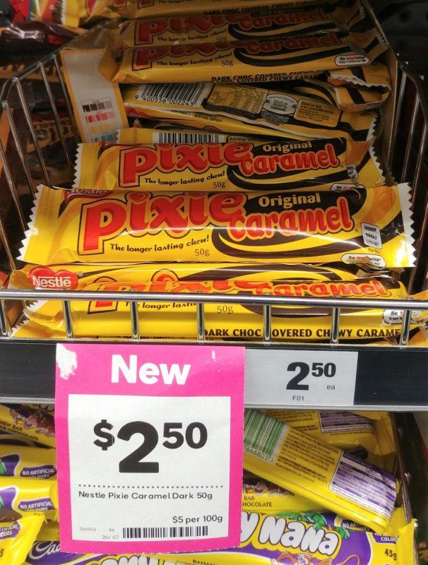 Nestle 50g Pixie Caramel