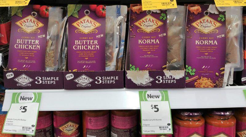 Patak's 313g Curry Kit Butter Chicken, Korma