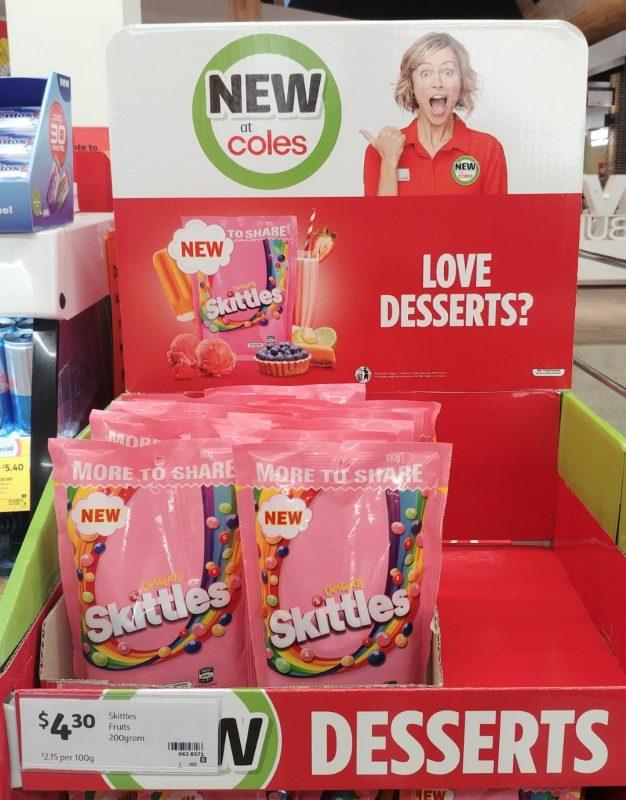 Skittles 200g Desserts