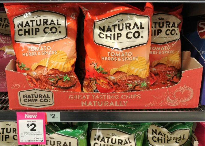 The Natural Chip Co 175g Tomato Herbs & Spices