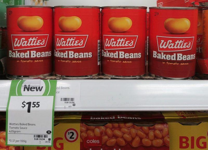 Wattie's 420g Baked Beans In Tomato Sauce