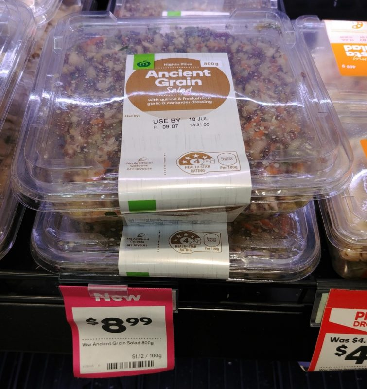 Woolworths 800g Salad Ancient Grain