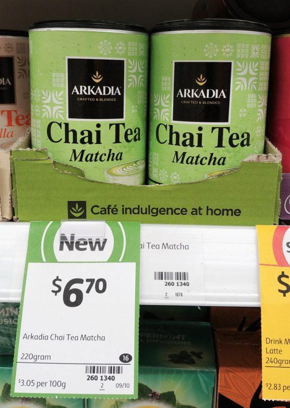 Arkadia 220g Chai Tea Matcha