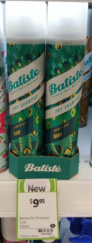 Batiste 200mL Dry Shampoo Luxe