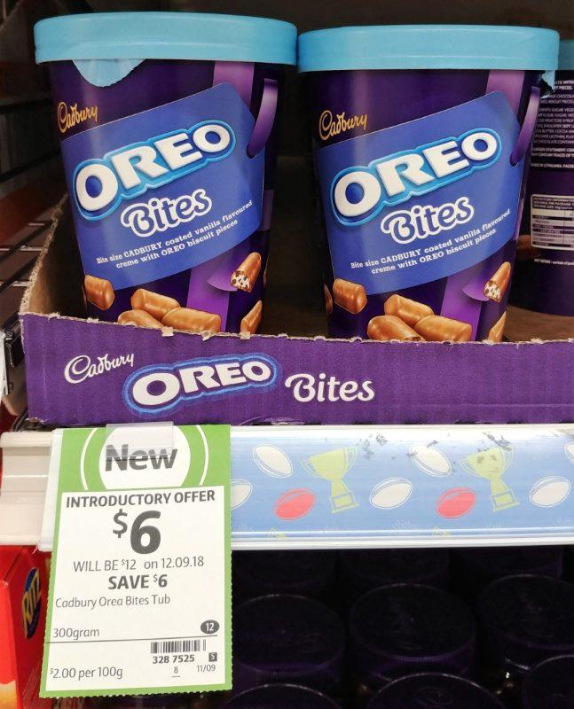 Cadbury 300g Bites Oreo