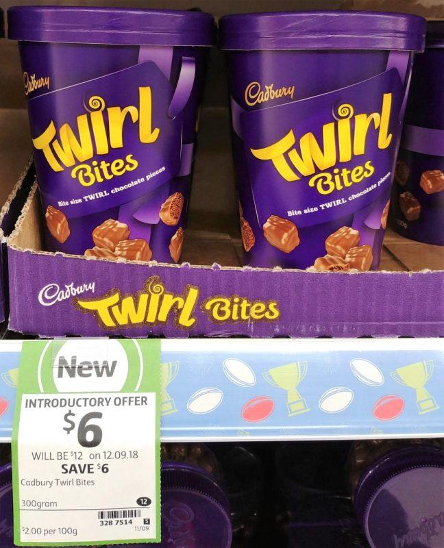 Cadbury 300g Bites Twirl