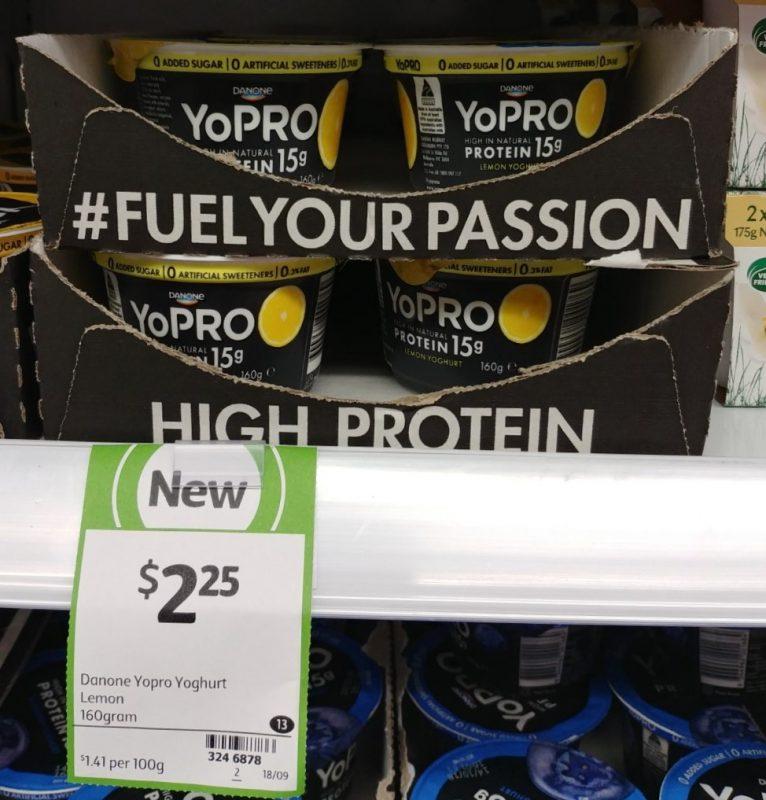 Danone 160g YoPRO Yoghurt Lemon
