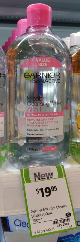 Garnier 700mL Micellar Cleansing Water All In 1