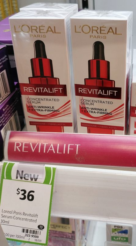 L'Oreal 30mL Anti Wrinkle + Extra Firming Concentrated Serum Revitalift