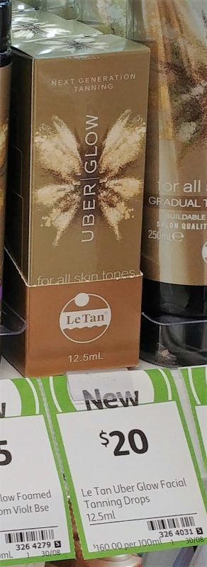 Le Tan 12.5mL Uber Glow Self Tanning Facial