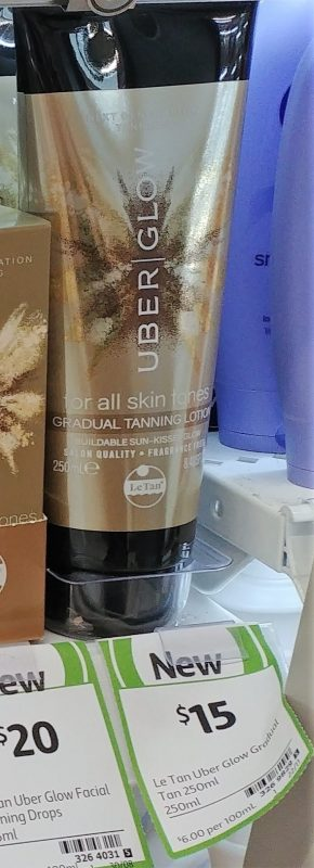 Le Tan 250mL Uber Glow Tanning Lotion Gradual