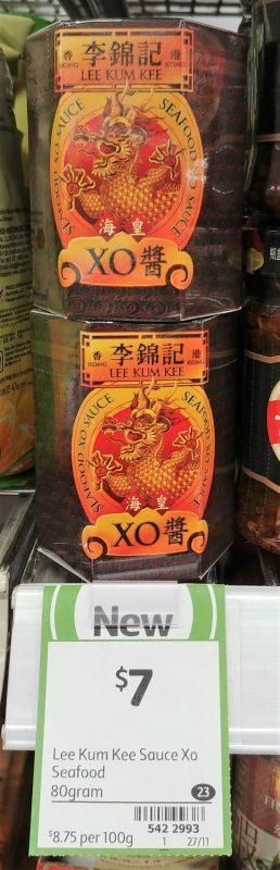 Lee Kum Kee 80g Seafood Sauce XO