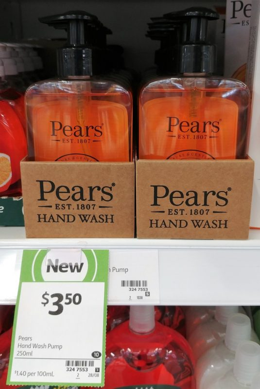 Pears 250mL Hand Wash