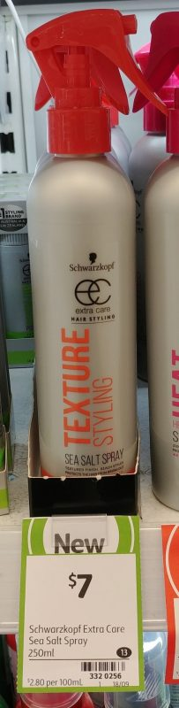 Schwarzkopf 250mL Sea Salt Spray Texture Styling